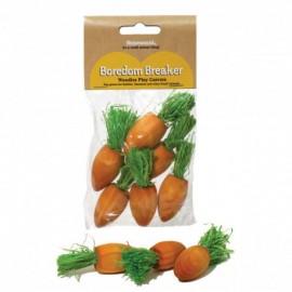 Rosewood Zanahorias de Madera para Roer 6 unidades