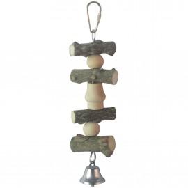 ICA juguete de Madera con Campana 23 cm.