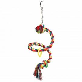 Trixie Percha Cuerda en Espiral