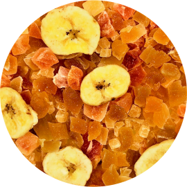 Healthys Caribeño de Piña, Papaya, Mango y Plátano