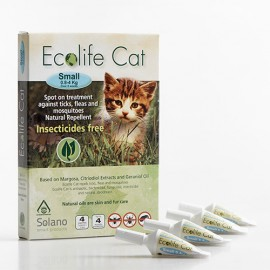 Ecolife Cat Spot On pipetas...