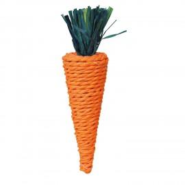 Trixie Juego Cuerda de Paja para Roer con Forma de Zanahoria