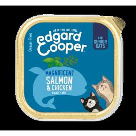 Edgar&Cooper tarrina gatos salmón y pollo