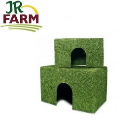 JR Farm Casita de Heno con Zanahoria Mediana 380 gr.