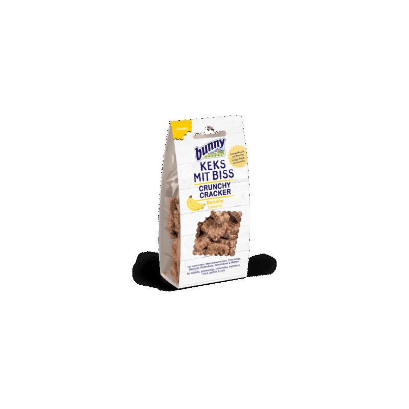 Bunny Nature Crunchy Cracker Plátano 50gr