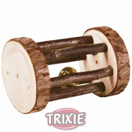 Trixie Natural Living Cilindro con Cascabel de Madera Natural