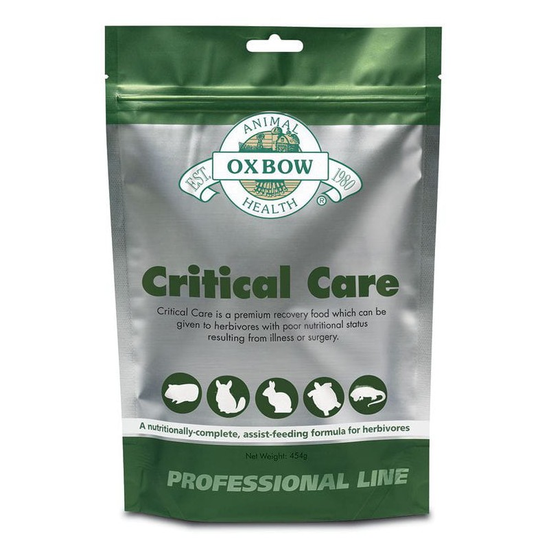 Oxbow Cuidados Intensivos Herbívoros (Esencia anís) 141 gr.