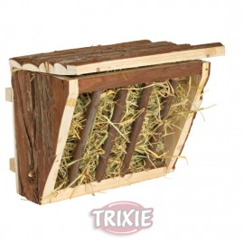 Trixie Henera con Tapa para Colgar de Corteza de Tronco Natural