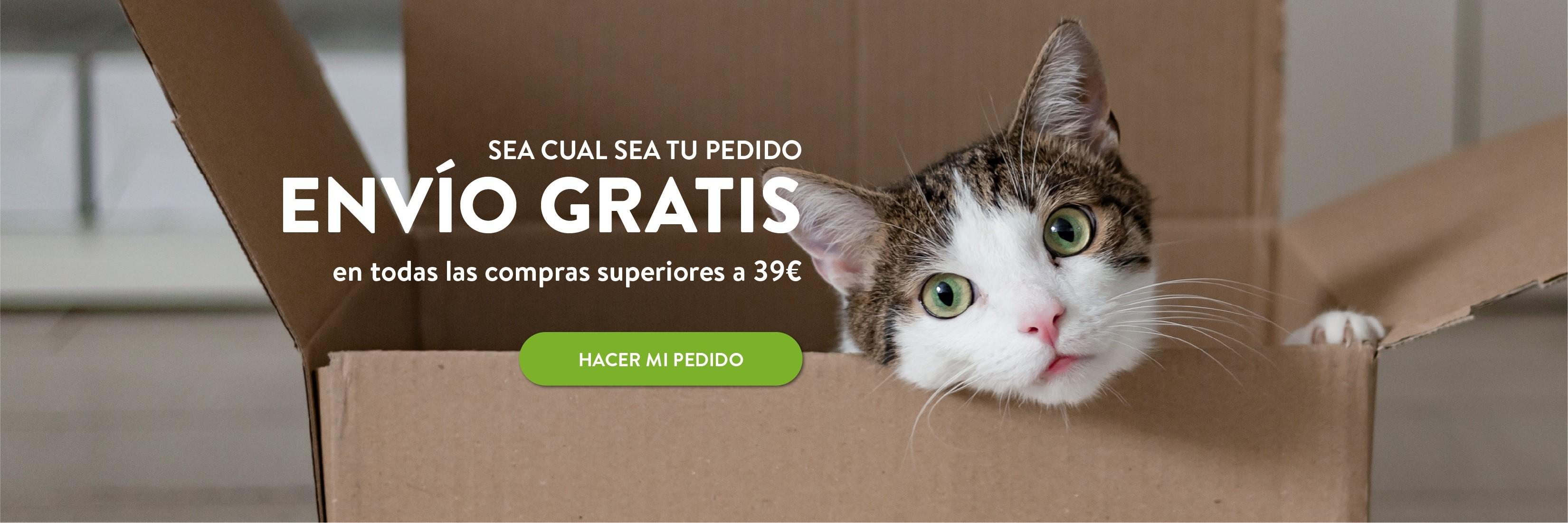 Envio Gratis en todas las compras superiores a 39€