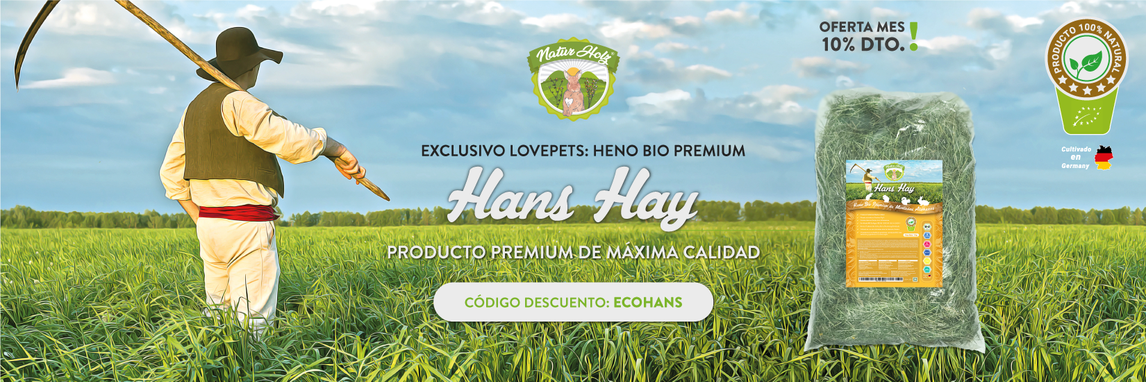 Descuento Hans Hay